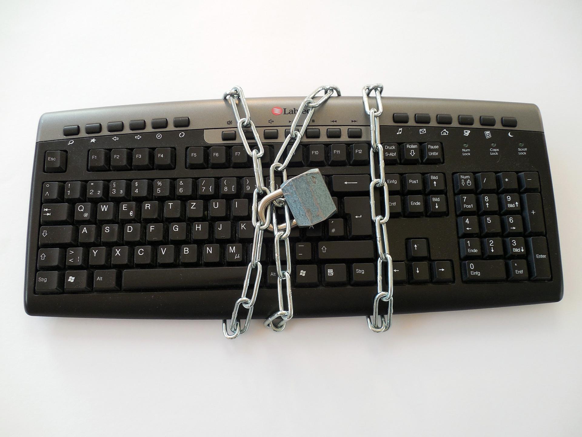 keyboard-chain-lock